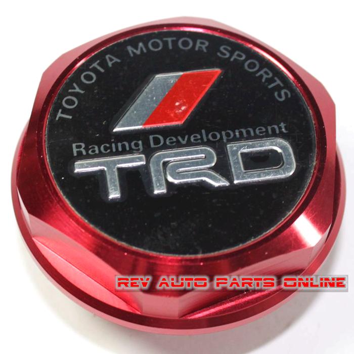 Alumínio TRD carro esporte a Motor Oil Filler Cap para Toyota 5 cores(China (Mainland))