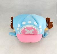 2015 Autumn/Winter Caps Brand Warmming Kids Kawaii Hot Anime One Piece Plush Tony Tony Chopper Cosplay Cap Boinas Masculinas