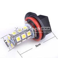 One Piece of H11 LED Fog Light Bulbs for BMW 530i 5050 E39 5 series bright 18 SMD White DRL LED Fog Lamp