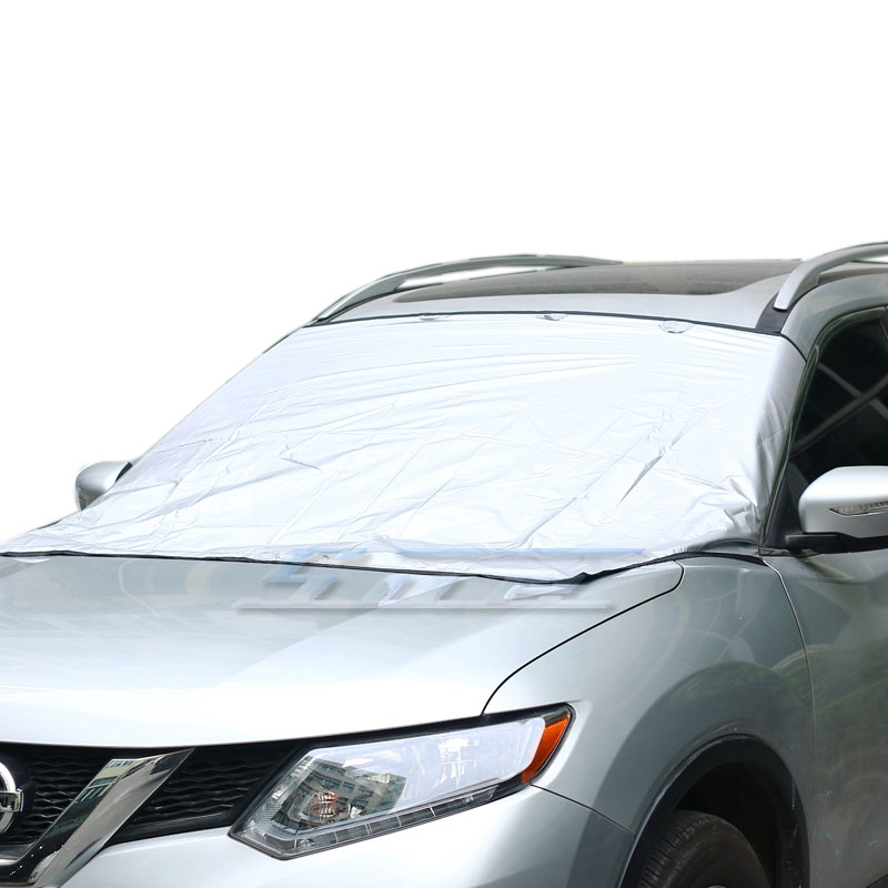 Fashion Magnet Car Truck SUV Windshield Cover Snow Ice Protector Sun Shield W/Storage Pouch(China (Mainland))