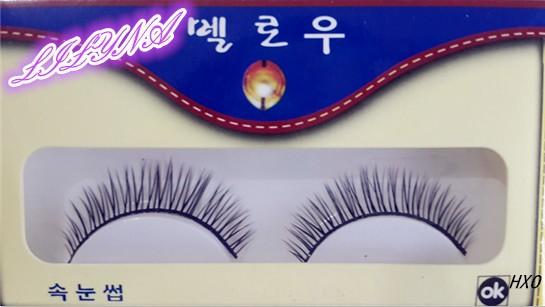 Free shipping 2014 hot sale 10 Pairs/lot sweet natural long thick cocking up girl false eyelashes charming fake eyelashes(China (Mainland))