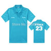 hot Pyrex Vision polo shirts camisas polo ralph men casual cotton solid shirt Breathable summer Tee brand boy's short apparel