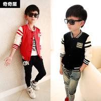 Children wear baseball uniform spring 2015 new Korean baby children coat jacket