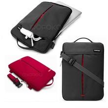 Notebook Laptop Sleeve case for macbook air pro 13  women messenger bags 13.3 inch computer handbag shoulder bag(China (Mainland))