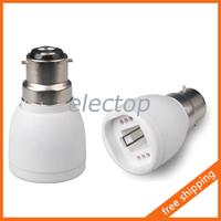 B22-G24 Lamp Holder Adapter Base Socket Converter for Light Bulb 5pcs/lot Wholesale
