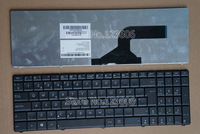 New Keyboard for ASUS A52 A52F A52J A52JC A52JB A52JE Laptop Nordic Language Black