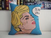 "Brand New Gaga Pop Bar Throw Pillow Case Home Decor Cushion Cover Square 18"" 45cm"