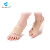 1 Pair Toe Bunion Splint Straightener Corrector Stretcher Sock Hallux Valgus Orthotics Day Night Relief Foot Pain