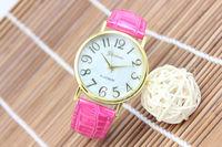 top selling fashion geneva brand popular shell face fashion design for women man quartz movement wholesale china watch
