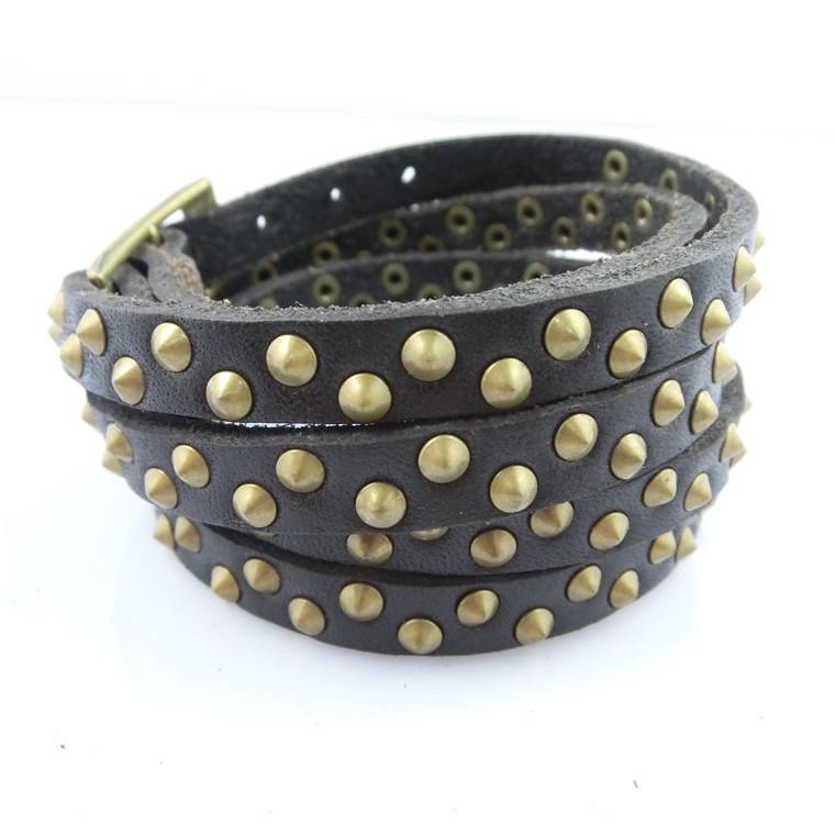 2015 Luxury colorful fashion leather thin bracelet jewelry men leather charm / sport bead bracelet bangle free shipping NSL-130(China (Mainland))