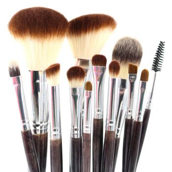 Профессиональный комплект кистей для макияжа 12 шт. высокое качество макияж для инструментов ...