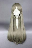 2015 New anime cosplay Role 75CM long straight Yurikuma Arashi-Kureha Tsubaki brand half cosplay anime custome wig