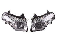 motorcycle Headlamp for Honda gl1800 2001-2006 headlights headlight GL1800 01 02 03 04 05 06 Clear