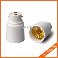B22 to E27 Lamp Holder Adapter Base Socket Converter for Light Bulb 5pcs/lot Wholesale