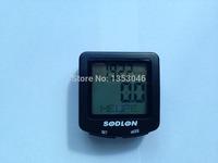 Waterproof Digital Backlight Noctilucent Bicycle Computer Odometer Bike Speedometer SDL-571