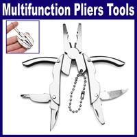 2 pcs/Lot  _ Multi-function Practical Mini Beetle Pliers Folding Knife Screwdriver Mini-Power Tools Set