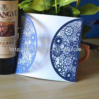 wedding decorations,laser cut wedding invitation flower