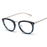 2015 New hot sale Fashion Glass Vintage Eye Glasses Decoration Round Plain Scrub Eyeglasses Frame wholesale 0521
