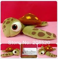 (10PCS/LOT) 30CM Original Movie Finding Nemo Plush toy stuffed animal doll Squirt turtle Children gift