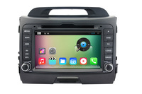 Pure Android 4.4 Car DVD Player For Kia SPORTAGE 2010-2012 with Capacitive Screen