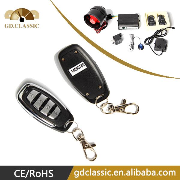 Free shipping One way car alarm security system factory price PKE Car alarm(China (Mainland))