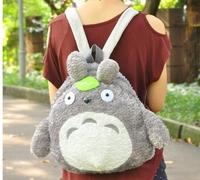 2015 Japanese Style Women Fashion Cute Cartoon Totoro Backpacks Students Backpacks 2211