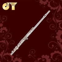 1 PC of Quality flute JYFL-E110S 16 closed holes C type Cooper _nickel body and key