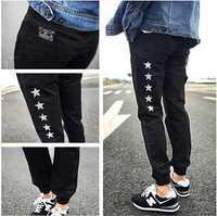 Size M-XXL Fashion Casual Women Harem Pants Cotton Dance Hip Hop Trousers Pencil Skinny Pantalones Hombre Mens Emoji Joggers