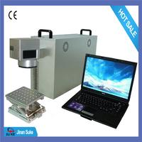 10W laser fiber marking machine for metal