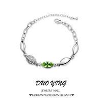 2015 Rock Long Korea Style Romantic One Direction Charm Vintage Crystal Bracelets For Women Best Friends