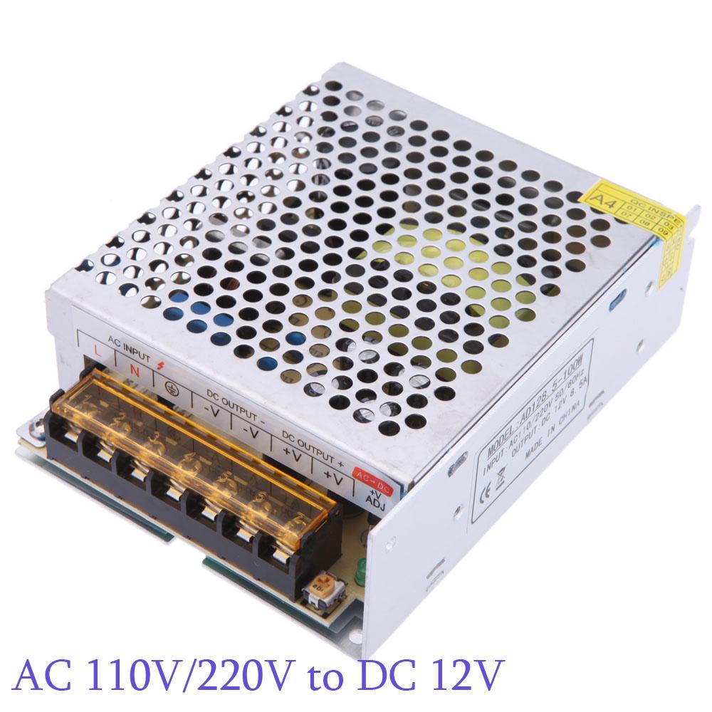 Трансформатор освещения OEM AC 110 /220 DC 12V 8.5A 100W Billboard L0147