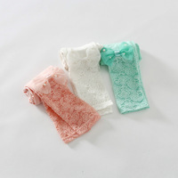 New 2015 girls Korean lace cotton leggings baby girls cotton leggings  5pcs/lot