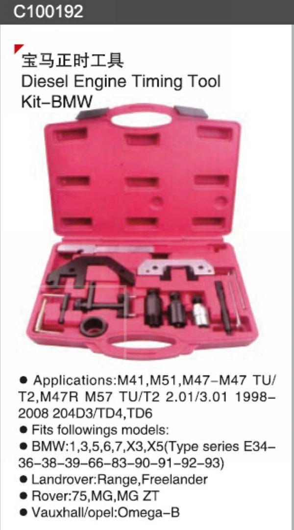 SunRed DIESEL ENGINE TIMING TOOL KIT car maintenance tools NO.C100192(China (Mainland))