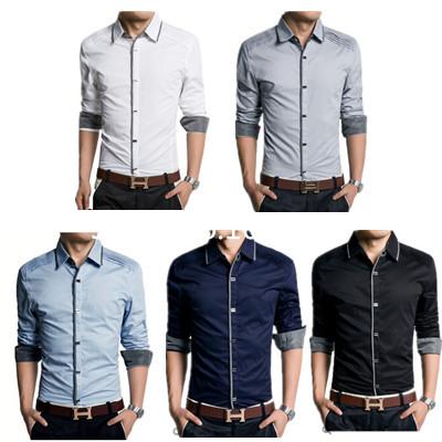 Men Dress Shirt Brand Designer