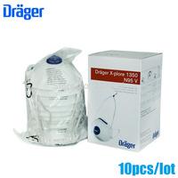 10 Pcs/lot drager original disposable masks particulate respirator anti-fog/haze/PM2.5 mask headband 1350V free ship ZSY012909