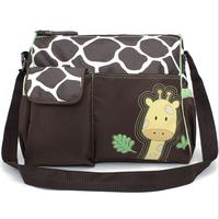 New Arrival Fashion Multi-Functional Baby Stroller Bag,Large Capacity Cute Giraffe Waterproof Diaper Bags,bolsas para bebe