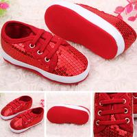 Baby Girl Sequin Shoes Infant Soft Sole Shoes Prewalker Toddler Shoes 0-12 M