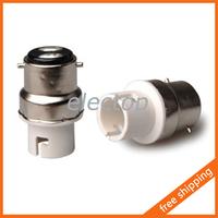 B22 to BA15D Lamp Holder Adapter Base Socket Converter for Light Bulb 5pcs/lot Wholesale