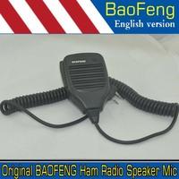 Original BAOFENG Ham Radio Speaker Mic for UV-5R UV-5RA UV-5RE UV-3R+Plus BF-888S BF-666S BF-777 UV-82 UV-8 D GT-3 Walkie Talkie