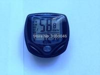 2pcs New Wireless Bicycle Computer Waterproof Backlight LCD Bike Computer  Speedometer Velometer With Clock Stopwatch
