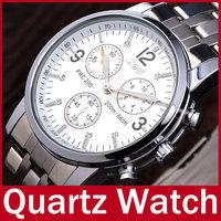 New Fashion 2015 Skmei Brand Men Casual Quartz Analog Wristwatch Stainless Steel Waterproof Watch For Men Relogio Masculino