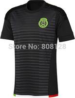 G. DOS SANTOS CHICHARITO black Mexico 2015 Home Away white Thailand Quality Soccer jersey shirt Football Uniforms