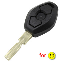No Chip Remote Key Shell Case Fit For BMW 3 5 7 SERIES Z3 Z4 X3 X5 M5 325i E38 E39 E46 330i 525i 540i 740iL 750iL + Uncut Blade