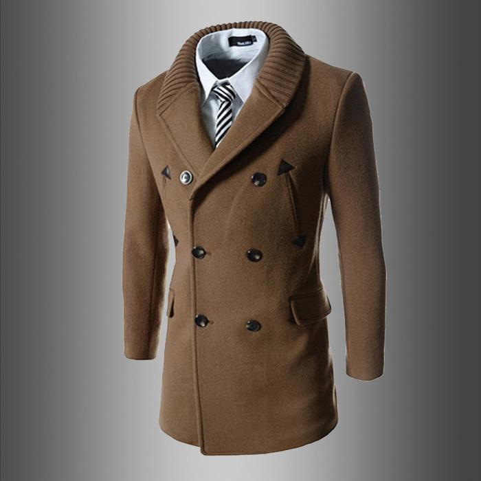 Brown Mens Coat   Down Coat