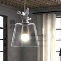 Western style Yc fashion vintage rustic white pendant light decorative lighting