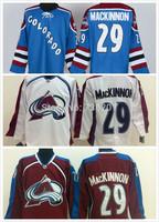 Wholesale Colorado Avalanche Jerseys #29 Nathan MacKinnon Hockey Jersey Stitched and Sewn