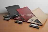 Freeshipping 14.1 inch Window 7 OS  Laptop Notebook with DVD-RW  Intel Celeron 1037U Dual Core 1.86GHz  2G DDR Memory 320G HDD