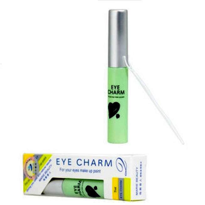 Wholesale 12pcs/lot Waterproof False Eyelash Adhesive Eyelashes Eye Glue Double Eyelid Eye Charm 7ml(China (Mainland))