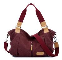 Hot! High Quality Multifunction Women Canvas Bag Casual Travel Bolsa Masculina Women's Crossbody Shoulder Bag BK288