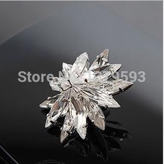 Korean jewelry wholesale fashion women's luxury super flash of white crystal earrings personalized earrings big earrings retro p(China (Mainland))